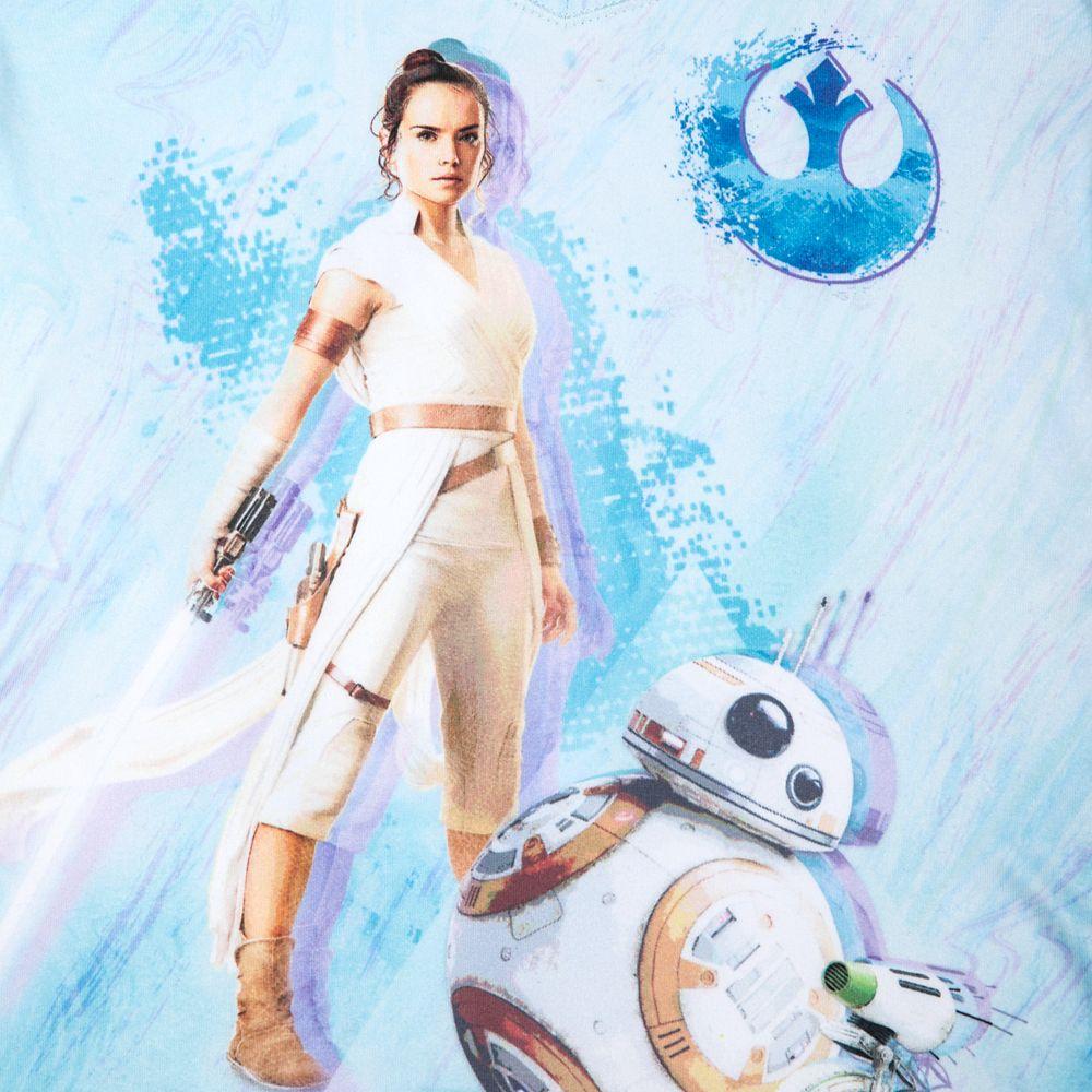 Rey V-Neck T-Shirt for Girls – Star Wars: The Rise of Skywalker