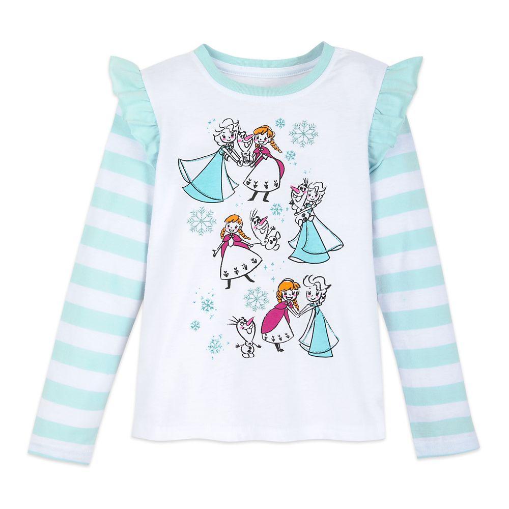 Frozen Long Sleeve T-Shirt for Girls