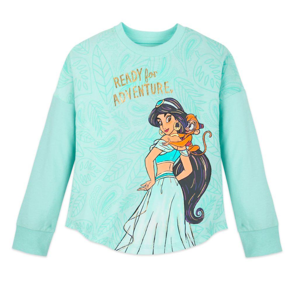 Jasmine Long Sleeve T-Shirt for Girls Official shopDisney