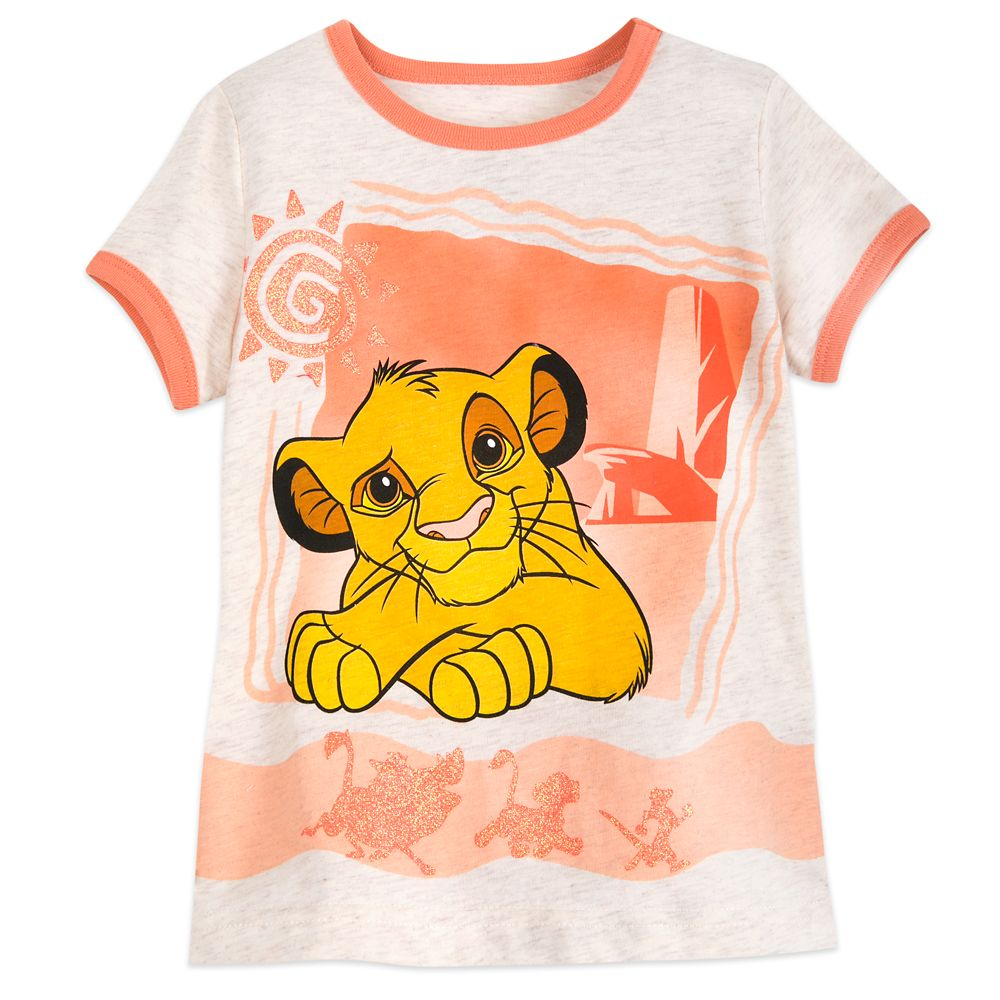 Simba Ringer T-Shirt for Girls