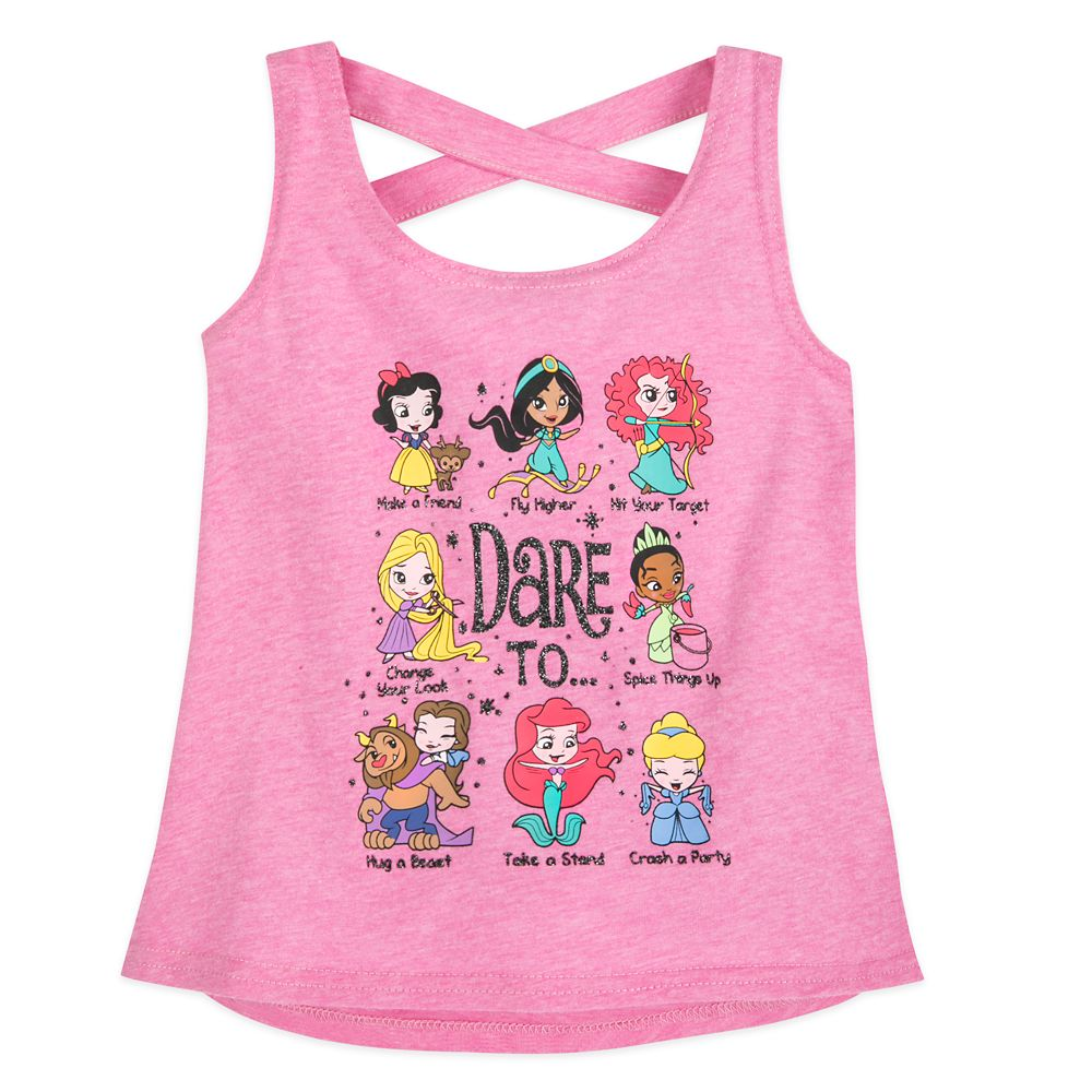 Disney Princess Racerback Tank Top for Girls