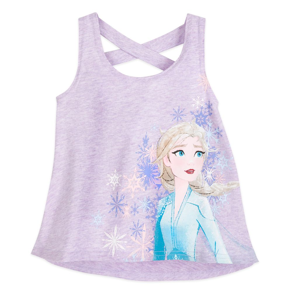 Elsa Racerback Tank Top for Girls – Frozen 2