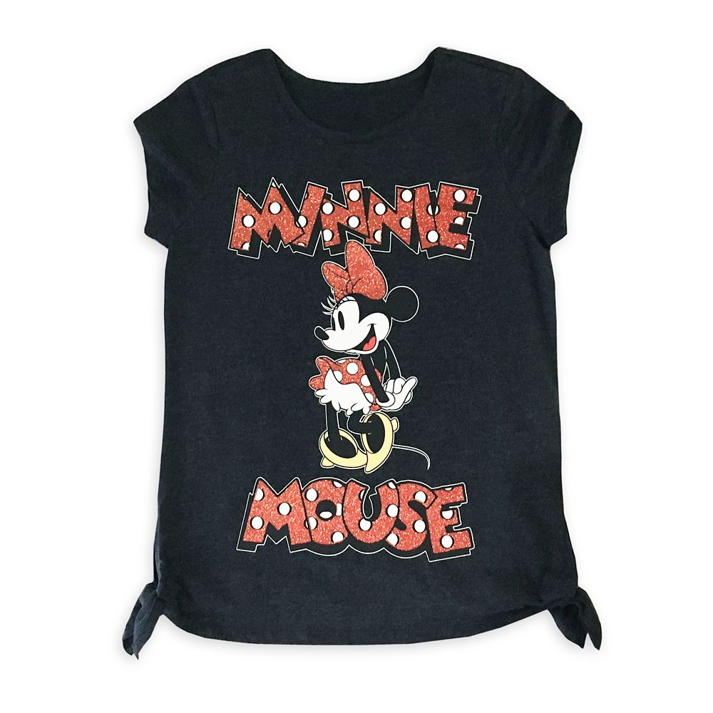 Minnie Mouse Knotted T-Shirt for Girls