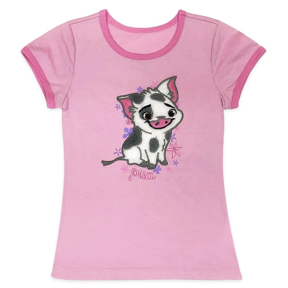 Pua Ringer Tee for Girls – Moana