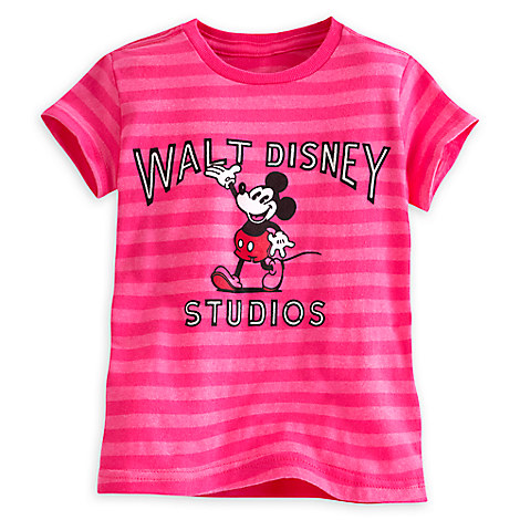 Mickey Mouse Tee for Girls - Walt Disney Studios