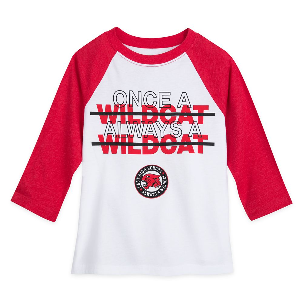 High School Musical: The Musical: The Series Wildcats Raglan T-Shirt for Girls