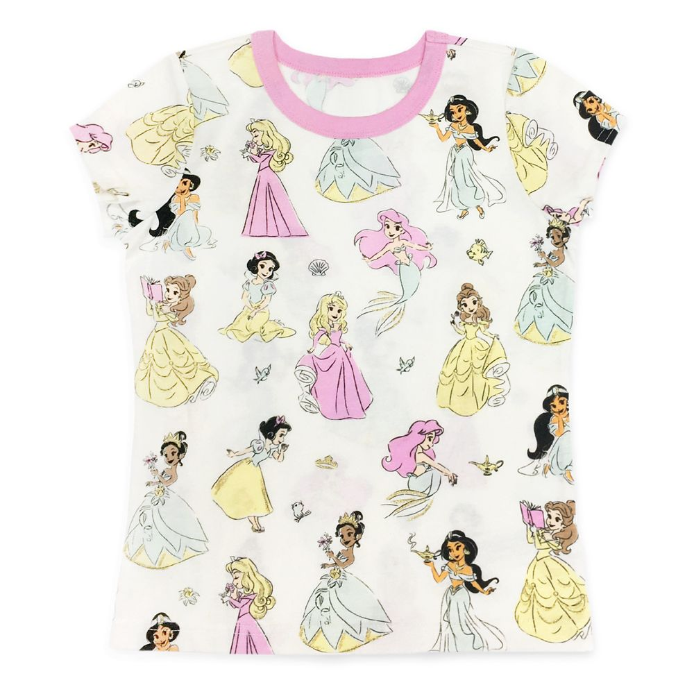 Disney Princess Ringer T-Shirt for Girls