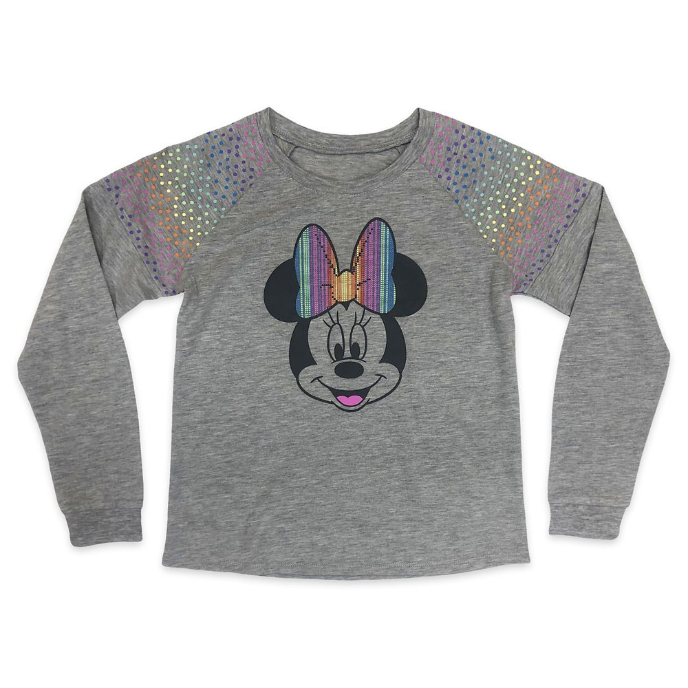 Minnie Mouse Long Sleeve T-Shirt for Girls