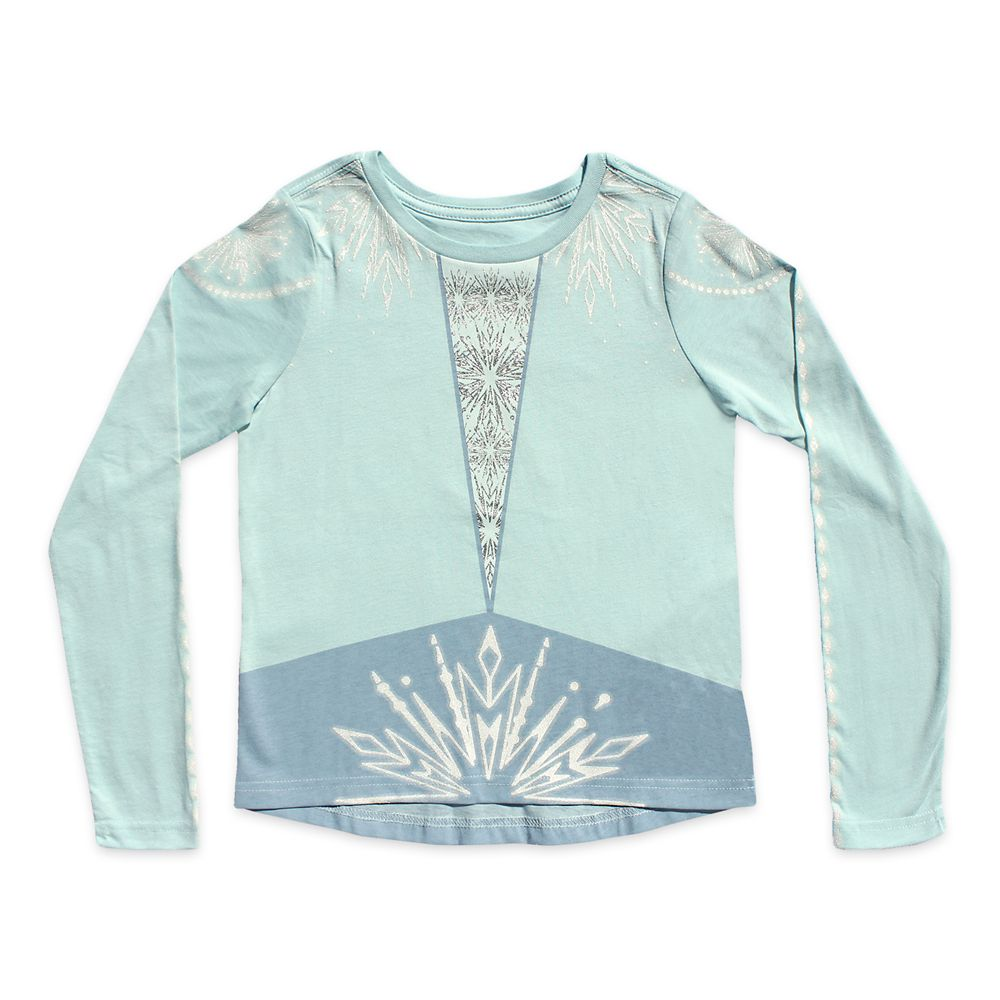 Elsa Long Sleeve T-Shirt for Girls – Frozen 2