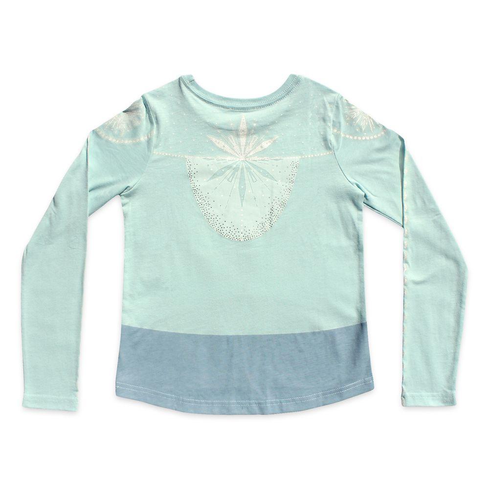 Elsa Long Sleeve T-Shirt for Girls – Frozen 2