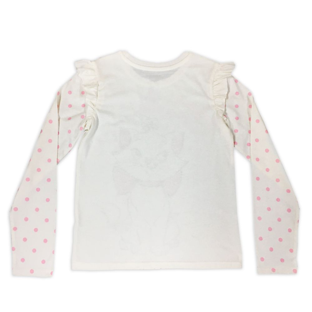 Marie Long Sleeve T-Shirt for Girls – The Aristocats