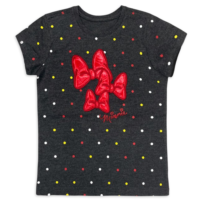 Minnie Mouse Bow T-Shirt for Girls