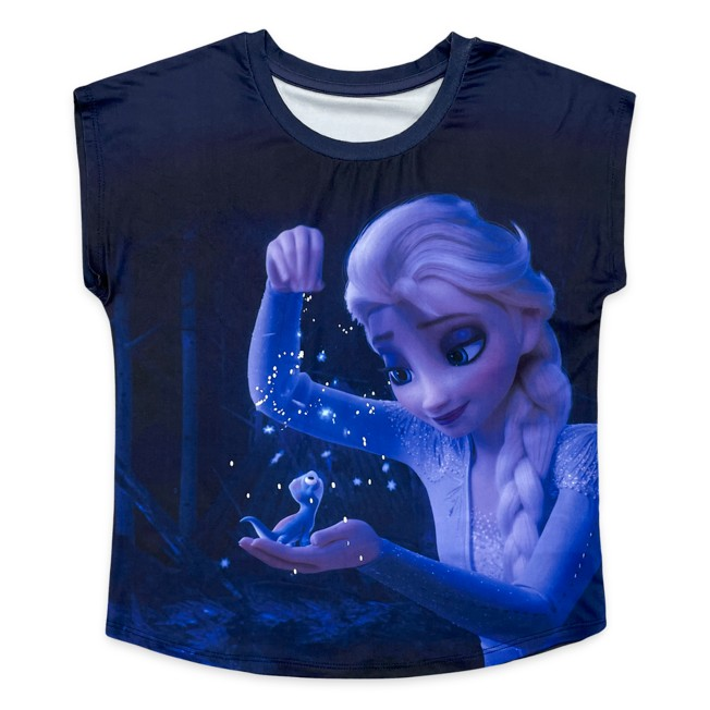 Elsa and Bruni Dolman T-Shirt for Girls – Frozen 2