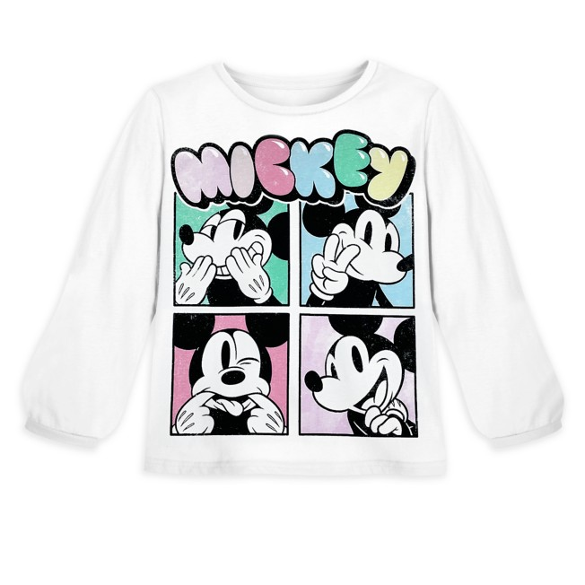 Mickey Mouse Long Sleeve T-Shirt for Girls