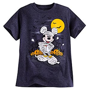 Mickey Mouse Halloween Tee for Boys
