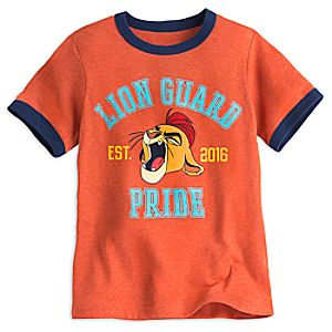 Kion Ringer Tee for Boys - The Lion Guard