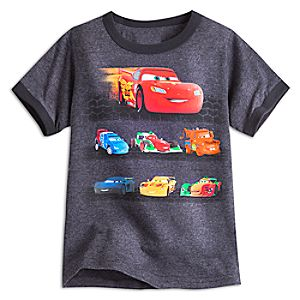 Cars Ringer Tee for Boys