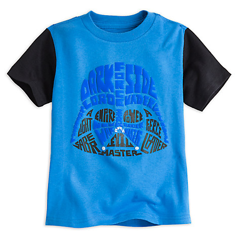 Darth Vader Puff Ink Tee for Boys