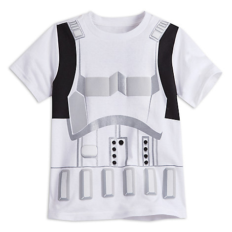 Stormtrooper Costume Tee for Boys - Star Wars