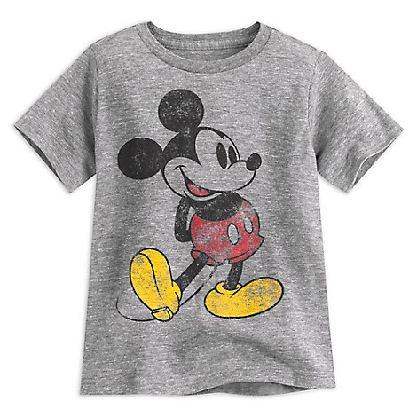 Mickey Mouse Classic Heathered Tee For Boys Disney Store
