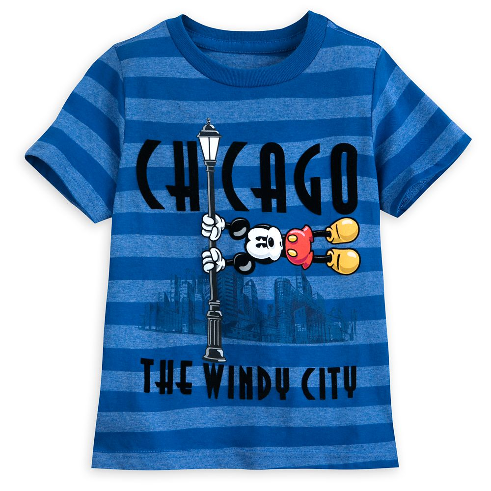 Mickey Mouse Chicago T-Shirt for Boys