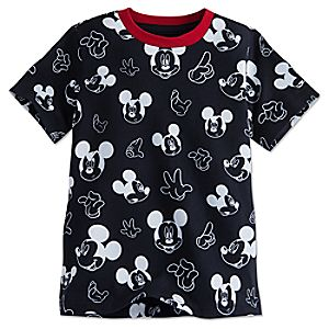 Mickey Mouse Allover Tee for Boys