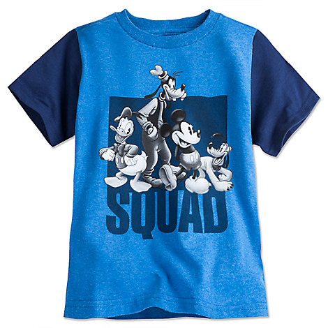 Mickey Mouse and Friends Tee for Boys - Blue