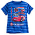 Lightning McQueen Striped Tee for Boys