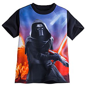 Kylo Ren Tee for Boys - Star Wars: The Force Awakens 5622045531225M
