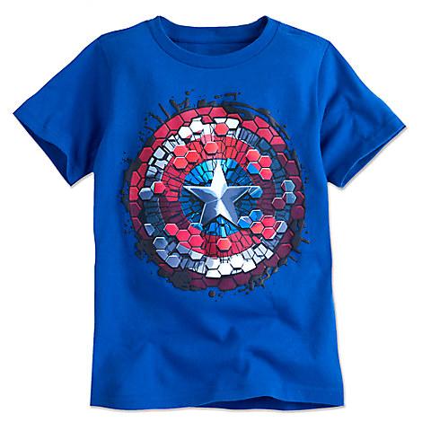 Captain America Shield Tee for Boys