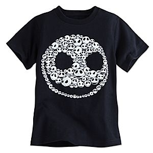 Jack Skellington Glow-in-the-Dark Tee for Boys
