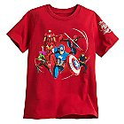 Disney Store 30th Anniversary Marvel Tee for Boys