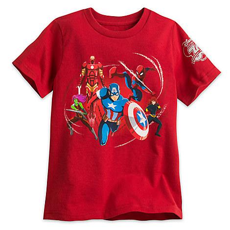 Disney Store 30th Anniversary Marvel Tee for Boys