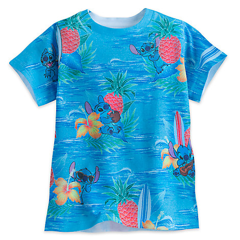 Stitch Tropical Tee for Boys