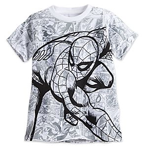 Spider-Man Comic Tee for Boys 5622045531644M