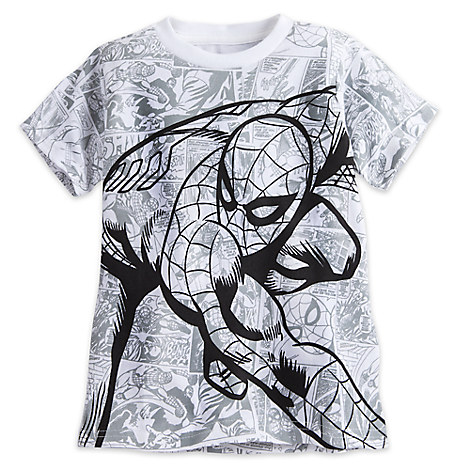 Spider-Man Comic Tee for Boys