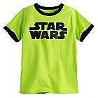 Star Wars Logo Ringer Tee for Boys