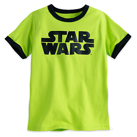 Star Wars Logo Ringer Tee for Boys