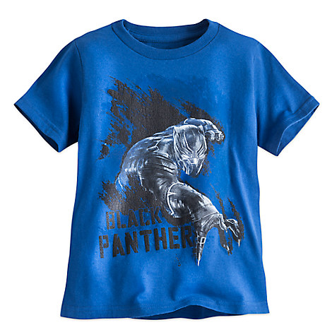 Black Panther Tee for Boys - Captain America: Civil War