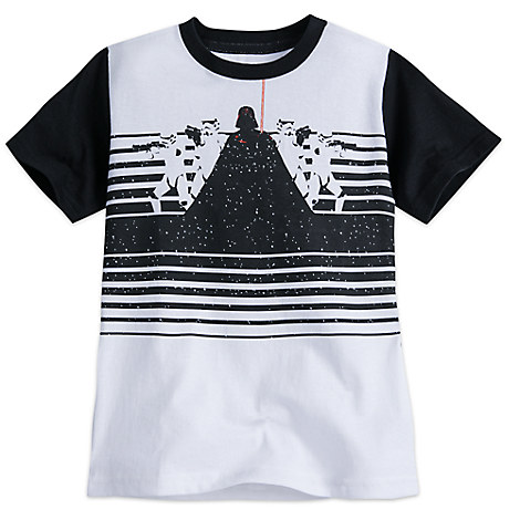 Darth Vader and Stormtroopers Tee for Boys - Star Wars