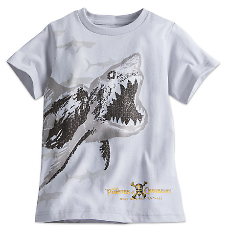 Ghost Shark Tee for Boys - Pirates of the Caribbean: Dead Men Tell No Tales