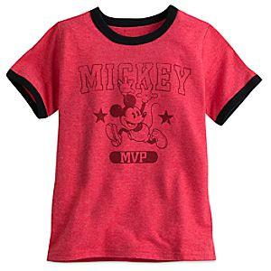 Mickey Mouse MVP Ringer Tee for Boys