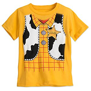 Woody Costume Tee for Boys – Toy Story
