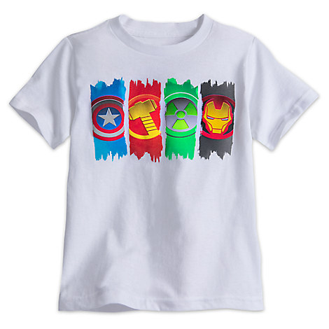 Avengers Icons Tee for Boys