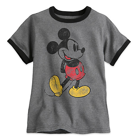Classic Mickey Mouse Ringer Tee for Boys