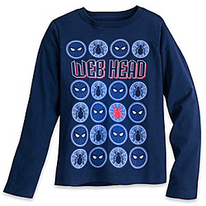 Spider-Man Long Sleeve T-Shirt for Boys 5622045532250M