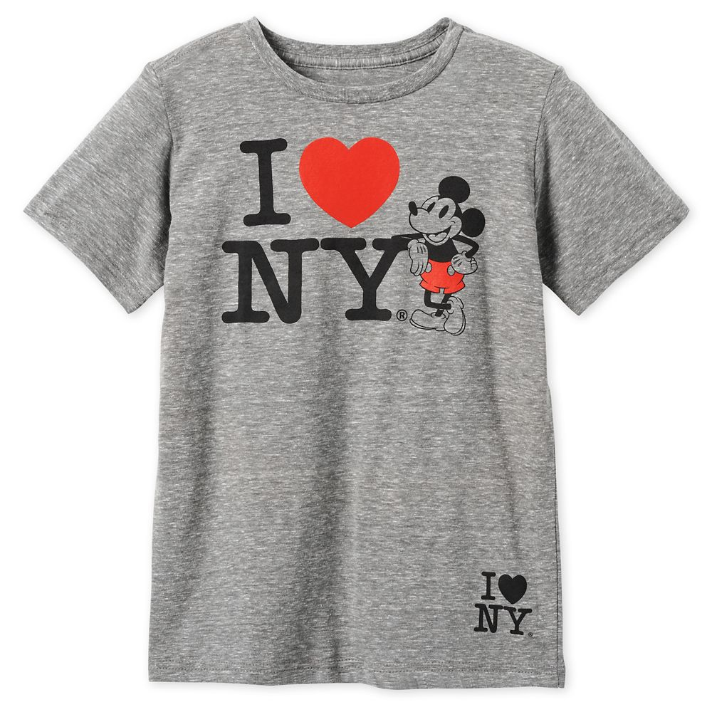 Mickey Mouse I♥New York T-Shirt for Boys – New York City