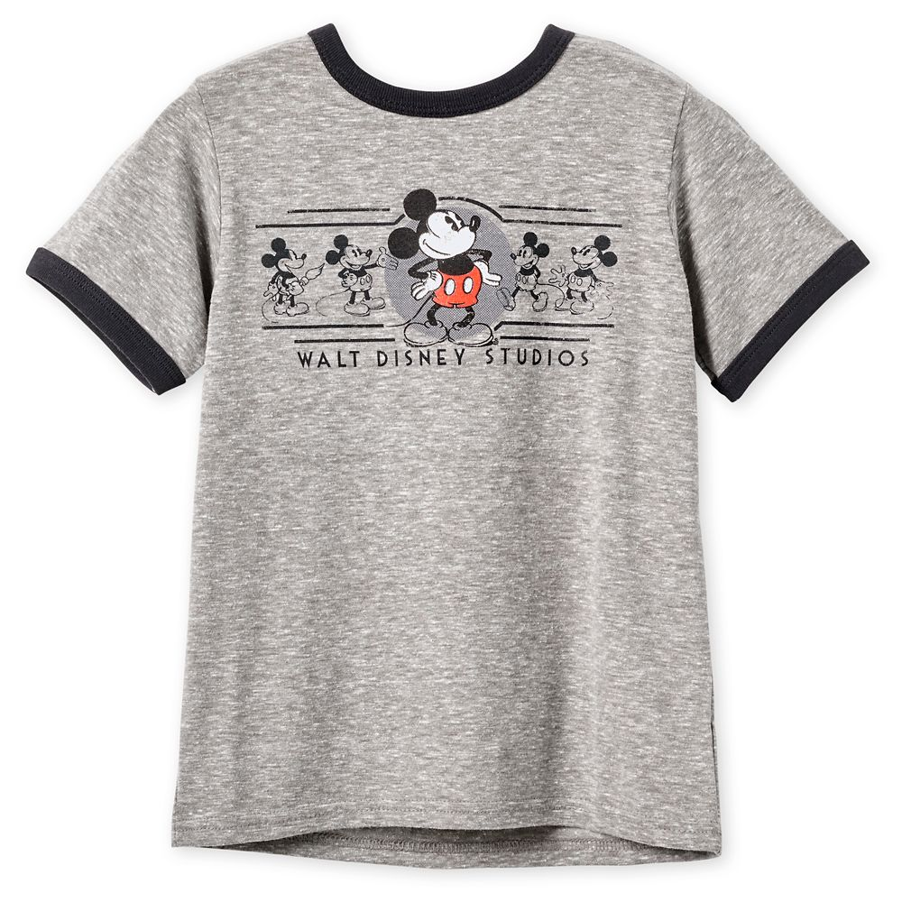 Mickey Mouse Ringer T-Shirt for Boys – Walt Disney Studios