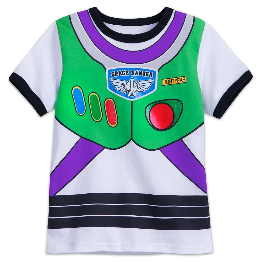 Buzz Lightyear Costume T-Shirt for Kids