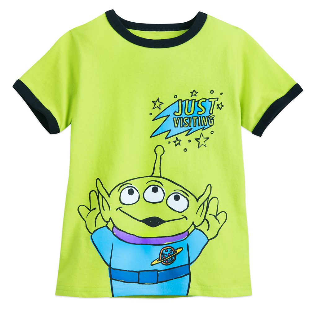 Toy Story Alien Ringer T-Shirt for Boys